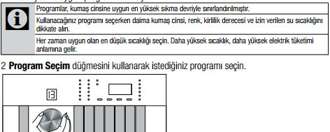 Program Seçimi